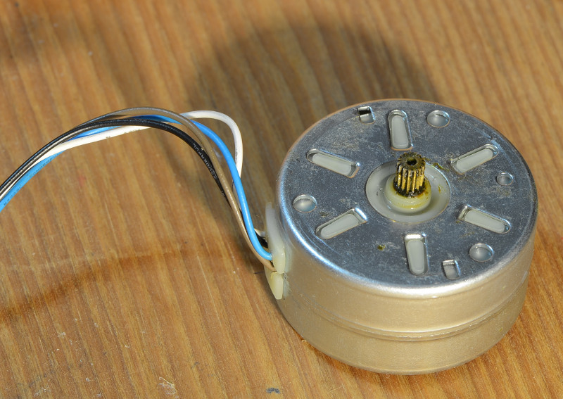Discovery clockdrive DC motor